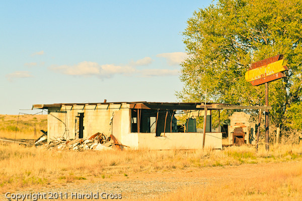 A landscape taken Oct. 28, 2011 near Taiban, NM.