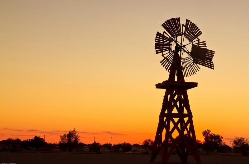 A landscape taken July 17, 2011 near Portales, NM.