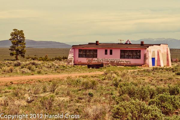 A landscape taken May 1, 2012 near Tres Piedras, NM.