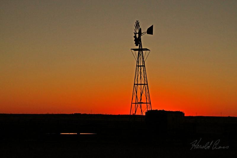 A landscape taken Nov. 6, 2009 near Portales, NM.