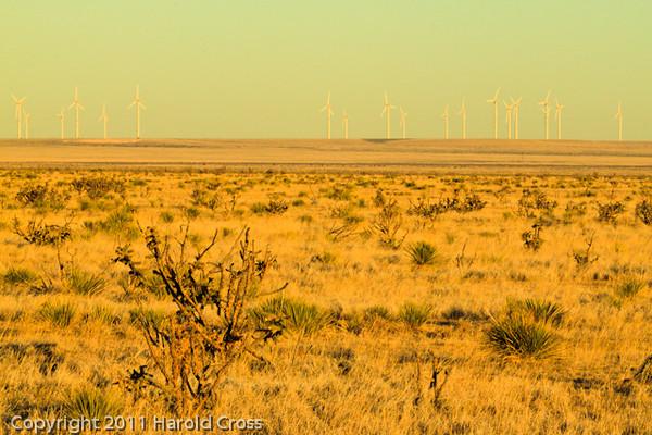 A landscape taken Nov. 1, 2011 near Elida, NM.