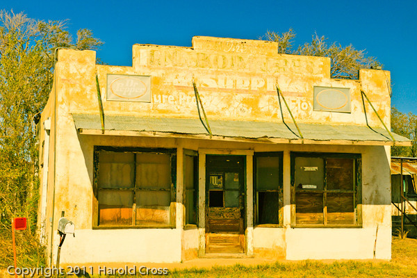 A landscape taken Oct. 29, 2011 near Floyd, NM.