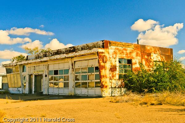A landscape taken Oct. 28, 2011 in Santa Rosa, NM.