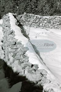Outer Wall, Pecos Pueblo