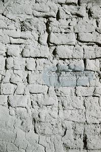 Vertical wall detail, Pecos Pueblo