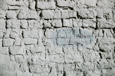 Horizontal wall detail, Pecos Pueblo