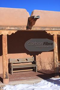 Bench, Pecos, New Mexico