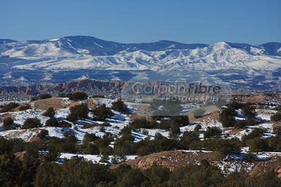 Winter on San Juan Mountains, New Mexico