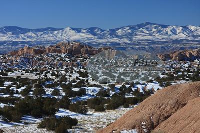 Winter on San Juan Mountains II, New Mexico