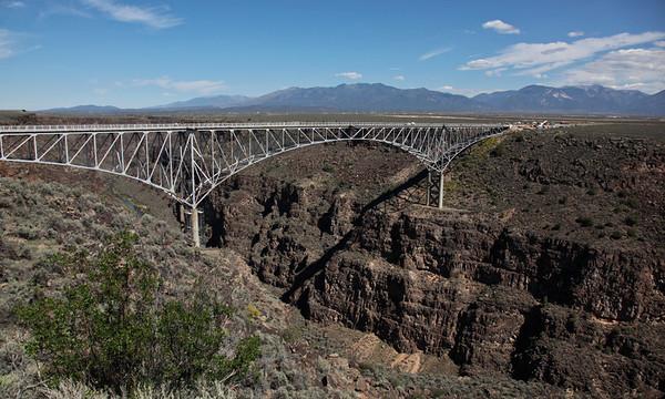 Rio Grande Gorge Bridge, Taos