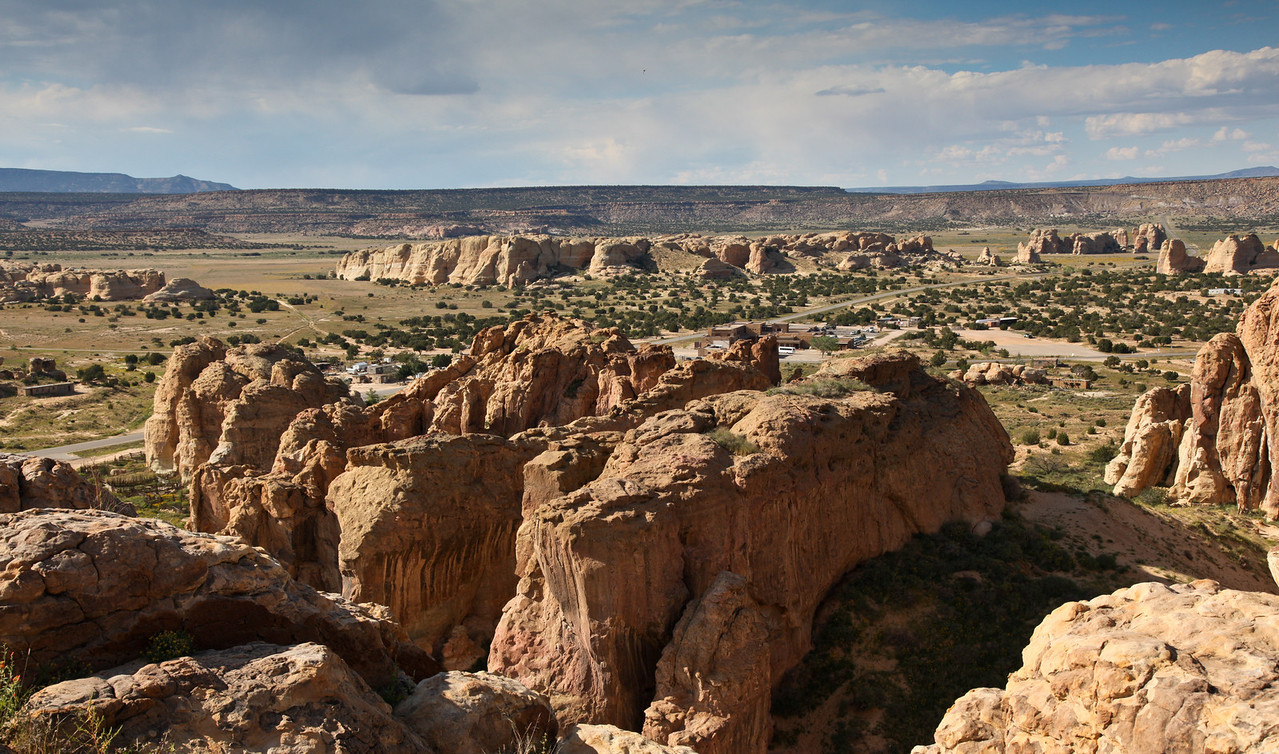 View from Acoma Pueblo