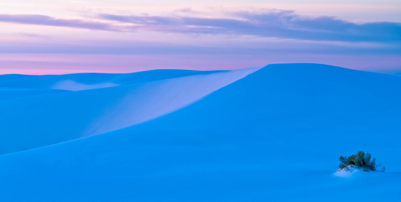 Pretty Sunrise Colours over White Sands