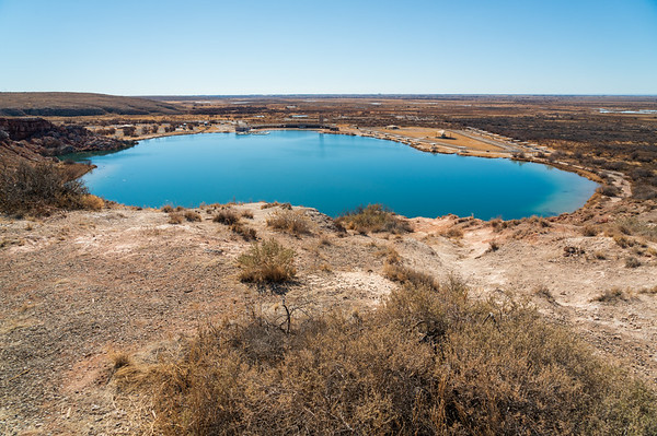 Bottomless Lakes State Park in New Mexico