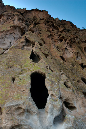 Frijoles Canyon Cave Dwellings