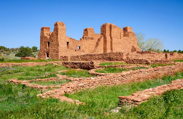 Quarai Ruins in Salinas Pueblo Missions National Monument