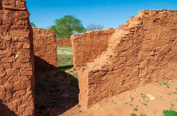 Abo Ruins at Salinas Pueblo Missions National Monument
