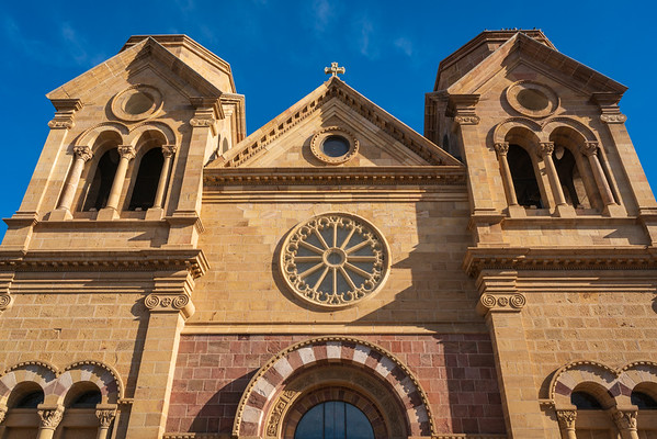 The Cathedral Basilica of Frances of Assisi, Santa Fe, New Mexico