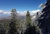 Looking north towards Sandia Peak.