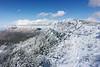 South peak on the right and Sandia peak on the left.