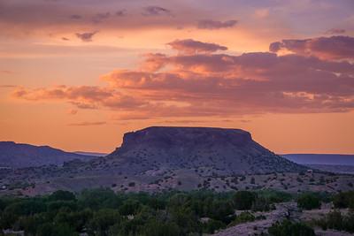 Black Mesa Sunset