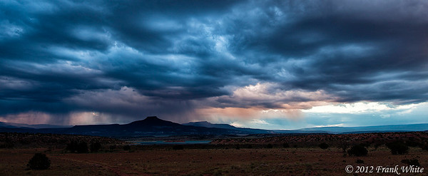 Storm over the desert, near Red Rocks. 3-shot HDR.