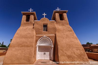 San Francisco de Asis church, Rancho de Taos, New Mexico