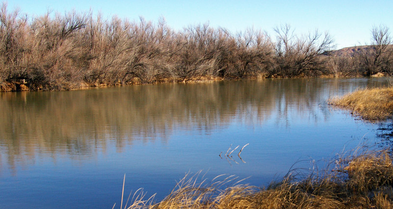 A long the Pecos River, Roswell, NM