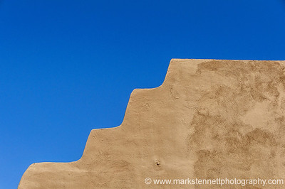 Adobe Wall, Santa Fe, New Mexico