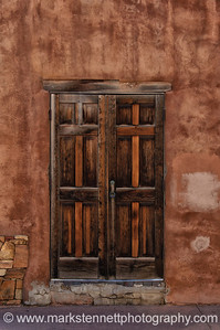 Doorways in Santa Fe, New Mexico