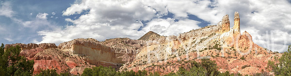 Piedra Lumbre Cliffs at Ghost Ranch.