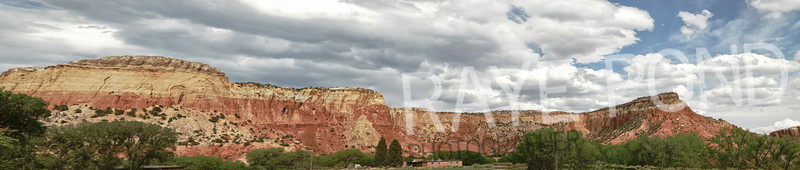 View at Ghost Ranch.