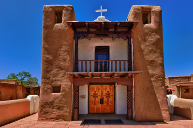 Church, Taos Pueblo, New Mexico