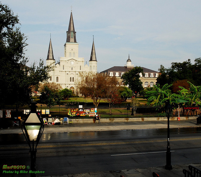 St. Louis Cathedral, Jackson Square, New Orleans French Quarter