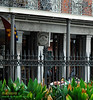 Cafe Pontalba in Jackson Square, French Quarter, New Orleans