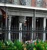 Cafe Pontalba in Jackson Square, French Quarter, New Orleans
