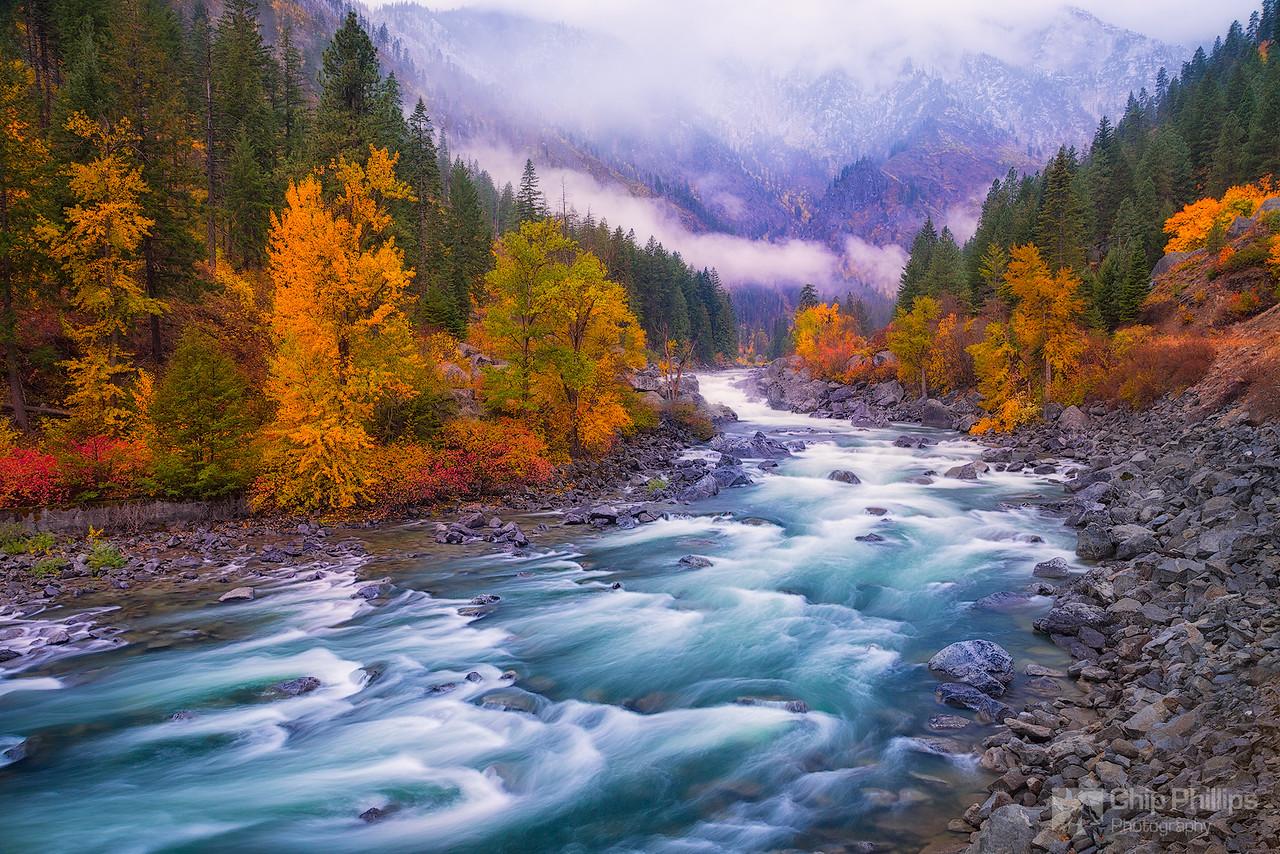 Wenatchee River Fall