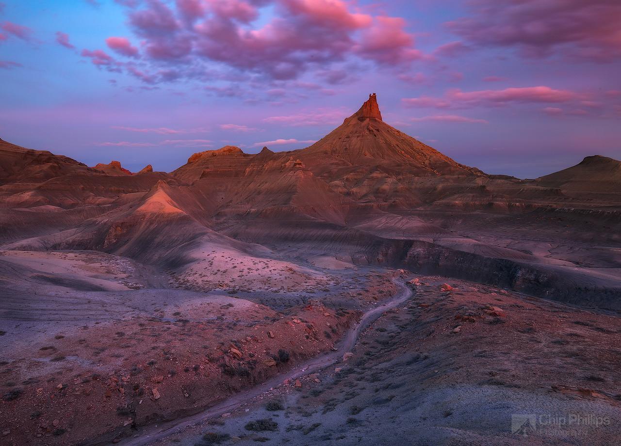 Escalante Butte Sunset