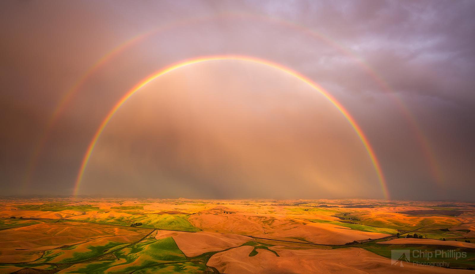 Double Rainbow, Palouse