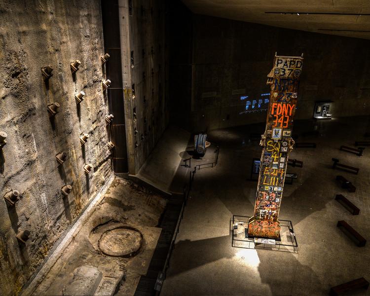 9/11 Musuem: Last Pillar