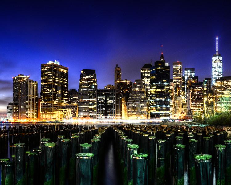 Manhattan From the Pier