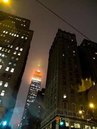 New York - magie de l'Empire State Building