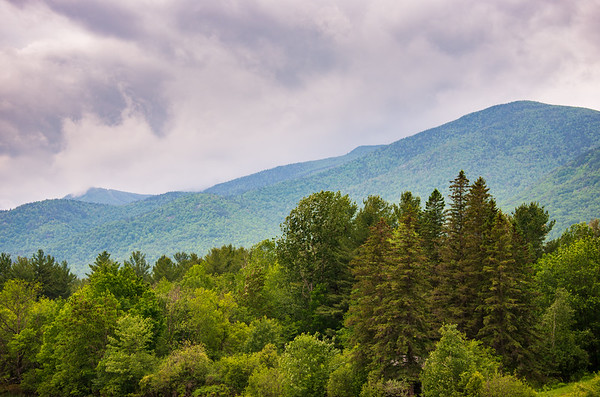 Misty Mountains at Adirondack Mountains