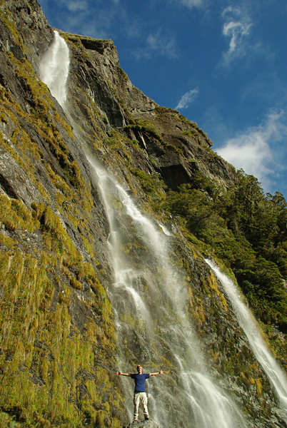 Earland Falls, Routeburn Track