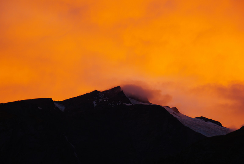 Mount Aspiring NP Sunset