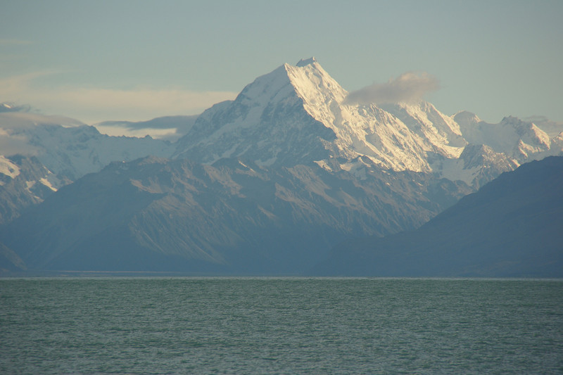 Aoraki Mount Cook is New Zealand's highest mountain (3754M)