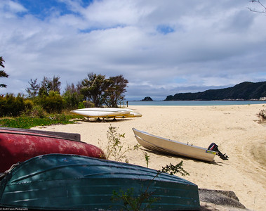 Boats at Able Tasman