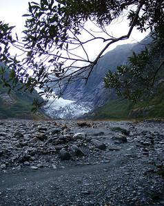 Franz Josef: base of glacier