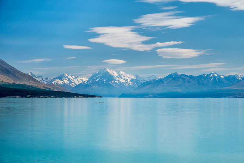Lake Pukaki and Aoraki / Mt Cook