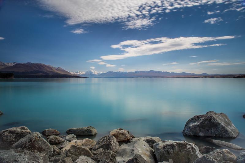 Lake Pukaki and Aoraki / Mt Cook