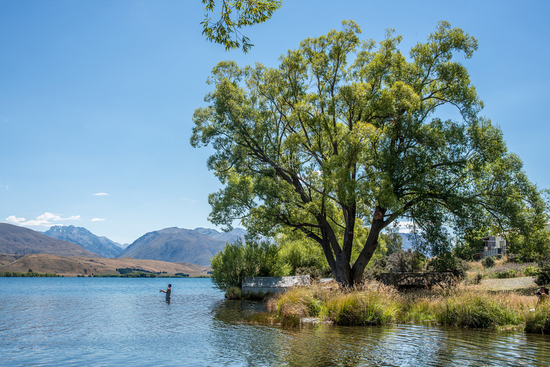 Fishing at Lake Alexandrina